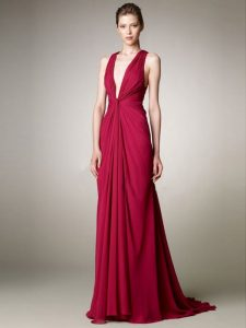 Prom Dresses of Deep v Neck