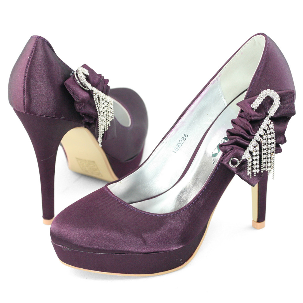 High Purple heels tumblr