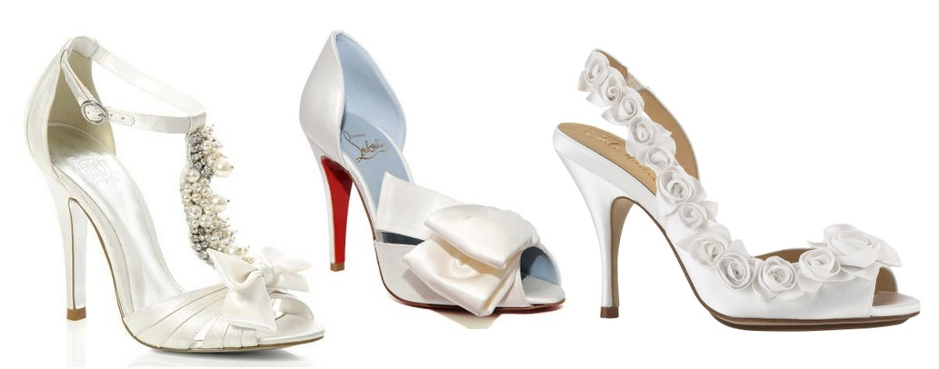 What Shoes To Wear With Wedding Gown - Wedding Shoes