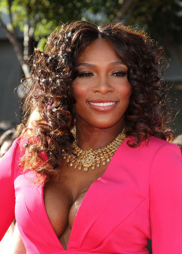 serena williams new hair style serena williams hair weave curly hair weave real hairstyle 8583