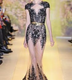 Zuhair Murad Couture Embellished Cocktail Dress Collection 2021