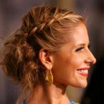 Updo Hairstyles for Long Hair celebrity style