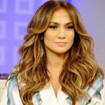 Hairstyles of Jennifer Lopez with bangs
