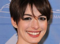 New Short Haircut by Anne Hathaway