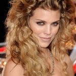 Short and Long Curly Haircut of Annalynne Mccord