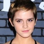 Short Pixie Haircut of Emma Watson