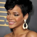 Rihanna Hairstyles Front View