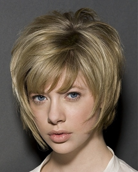 Bob Hairstyles Short Stacked With Bangs Stylosscom