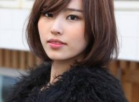 With Side, Full Fringe Long Bob Hairstyles