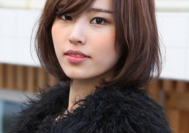 Long Bob Hairstyles with Side, Full Fringe 2021