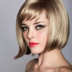 bob Hairstyles Short Stacked with Bangs