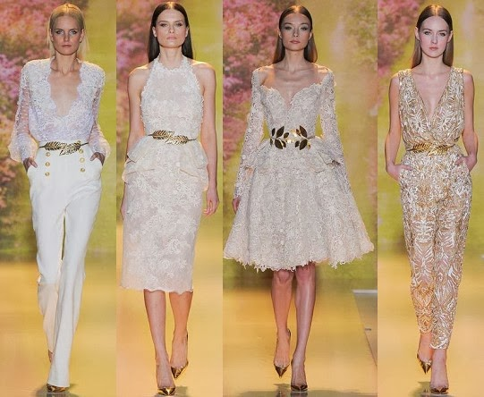 zuhair murad short and long cocktail dresses