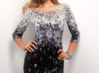Long Sleeve Designer Prom Dresses
