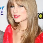 Super Long Bangs Hairstyle of Taylor Swift