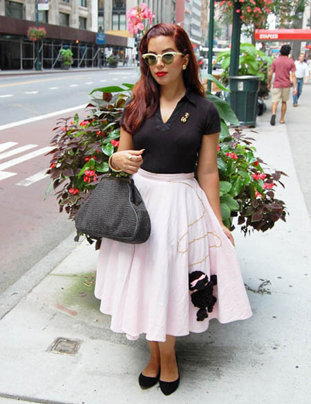 Hairstyles with Poodle Skirts - styloss.com
