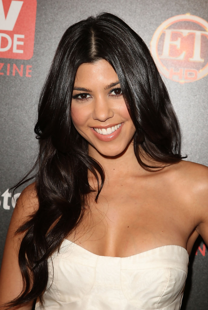 Hairstyle 2018 Kourtney Kardashian Hair Color