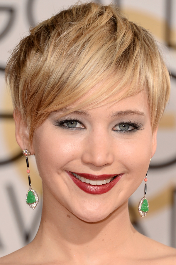 Pixie Haircut Jennifer Lawrence Styloss Com