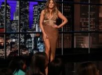 Khloe Kardashian Dress on chelsea lately 2014