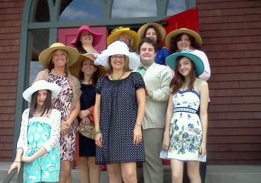 Womens Easter Dresses with Hats