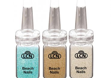 LCN Beach Nails Collection Gel Nail Polish Lacquer Hardener Summer 2021