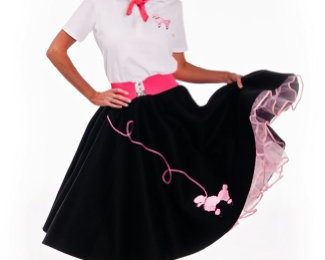 50's Style Poodle Skirt Pattern Designs How to Make