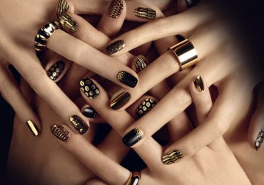 Easy Black and White Nail Designs for Short Nails Pictures