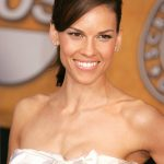 Short Haircut Hilary Swank color