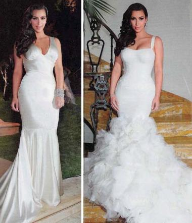 Kim Kardashian Dress Price for 3rd Wedding - styloss.com