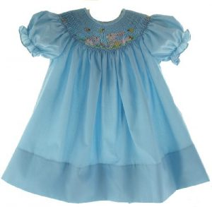 For Toddlers Smocked Easter Dresses