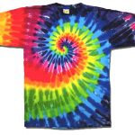 Make at Home Tie Dye Shirts pattern
