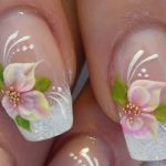 flower nail art designs for toes