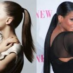 Short Ponytail Sleek Hairstyle