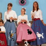 Poodle Skirt Pattern Designs 50's Style