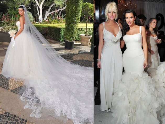 2017 Kim Kardashian 3rd Wedding Dress