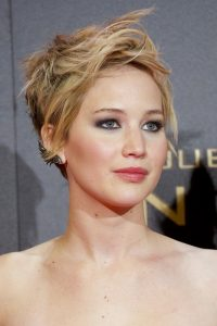 Jennifer Lawrence Short Hair style 2018 colors