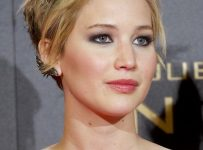 Jennifer Lawrence Short Hair style 2014 colors