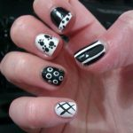 Black and White Nail Designs Easy