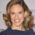 Hilary Swank Long Hairstyle color