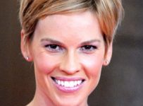 Short Haircut Hilary Swank