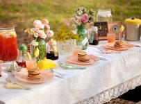 Backyard Bridal Shower Theme for summer
