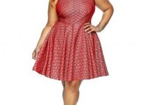 long Transformer Plus Size dress von vonni