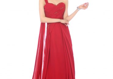 One Shoulder Prom Dress Hairstyles