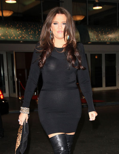 Pictures Of Khloe Kardashian Boyfriend And Baby Bump