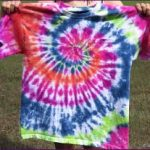 how to wash tie dye t shirts