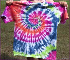 How to Wash Tie Dye Shirts after Dying with Vinegar for the First Time