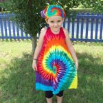 How to tie dye shirts for kids