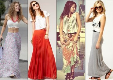 What Shoes to Wear with Maxi Skirt in summer
