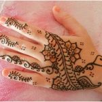 mehndi designs for hands step by step