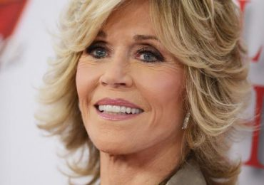 Jane Fonda Short Layered Hairstyle Pictures