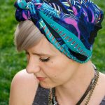 2014 Headscarf Wear with Short Hair